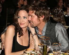 Brad Pitt about his Wife